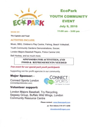 EcoPark Youth Community Event